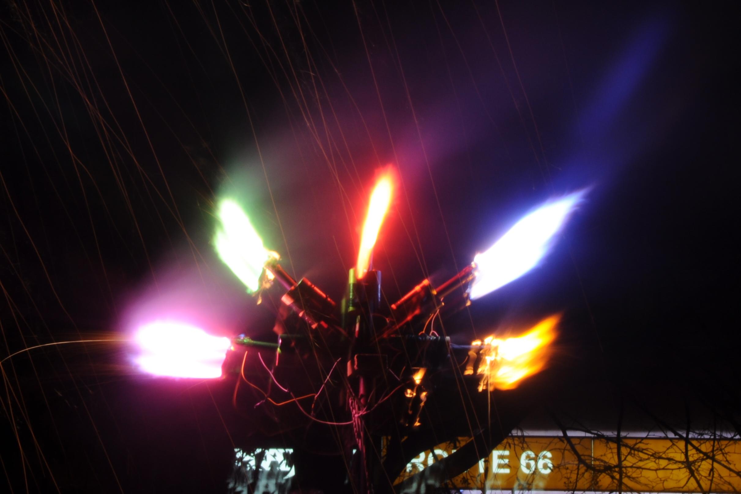 Látky barvící plamen