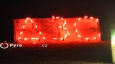 nápisová svíčka, bengálský oheň, pochodeň